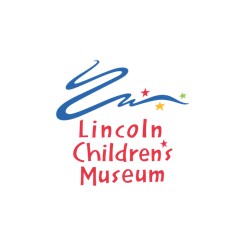 Lincoln Children's Museum logo. A 123 Connect with Me Partner.