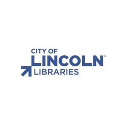 City of Lincoln Libraries logo. A 123 Connect with Me Partner.