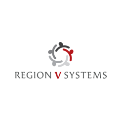 Region V Systems logo. A 123 Connect with Me Partner.