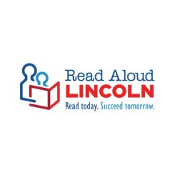 Read Aloud Lincoln logo. A 123 Connect with Me Partner.